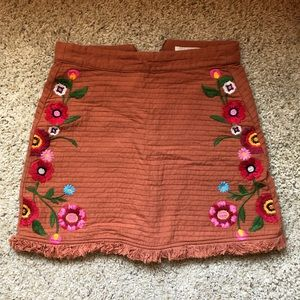 GB Embroidered Skirt
